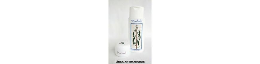 Loción y Crema Antimanchas Piabeli